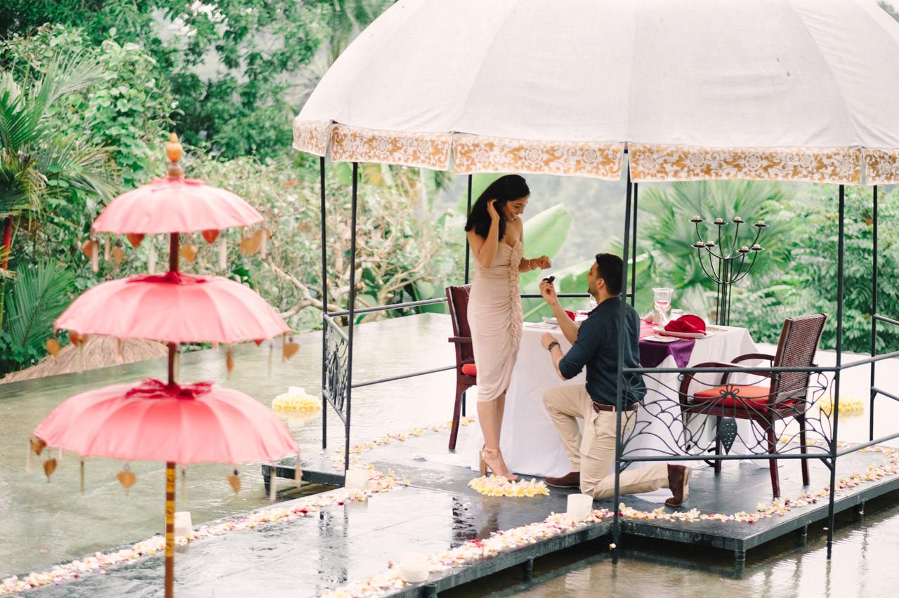 Parag and Mona: Ubud Surprise Proposal 6