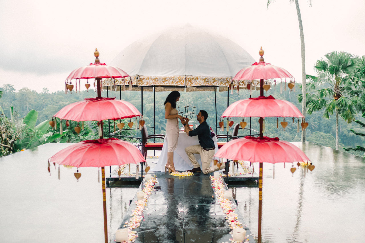 Parag and Mona: Ubud Surprise Proposal 7