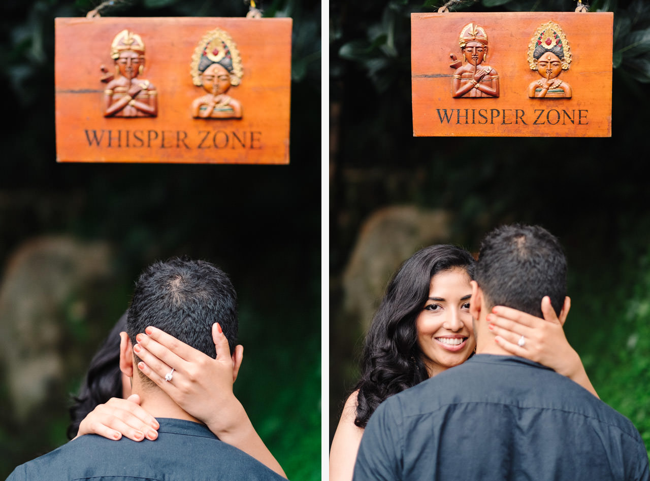 Parag and Mona: Ubud Surprise Proposal 12