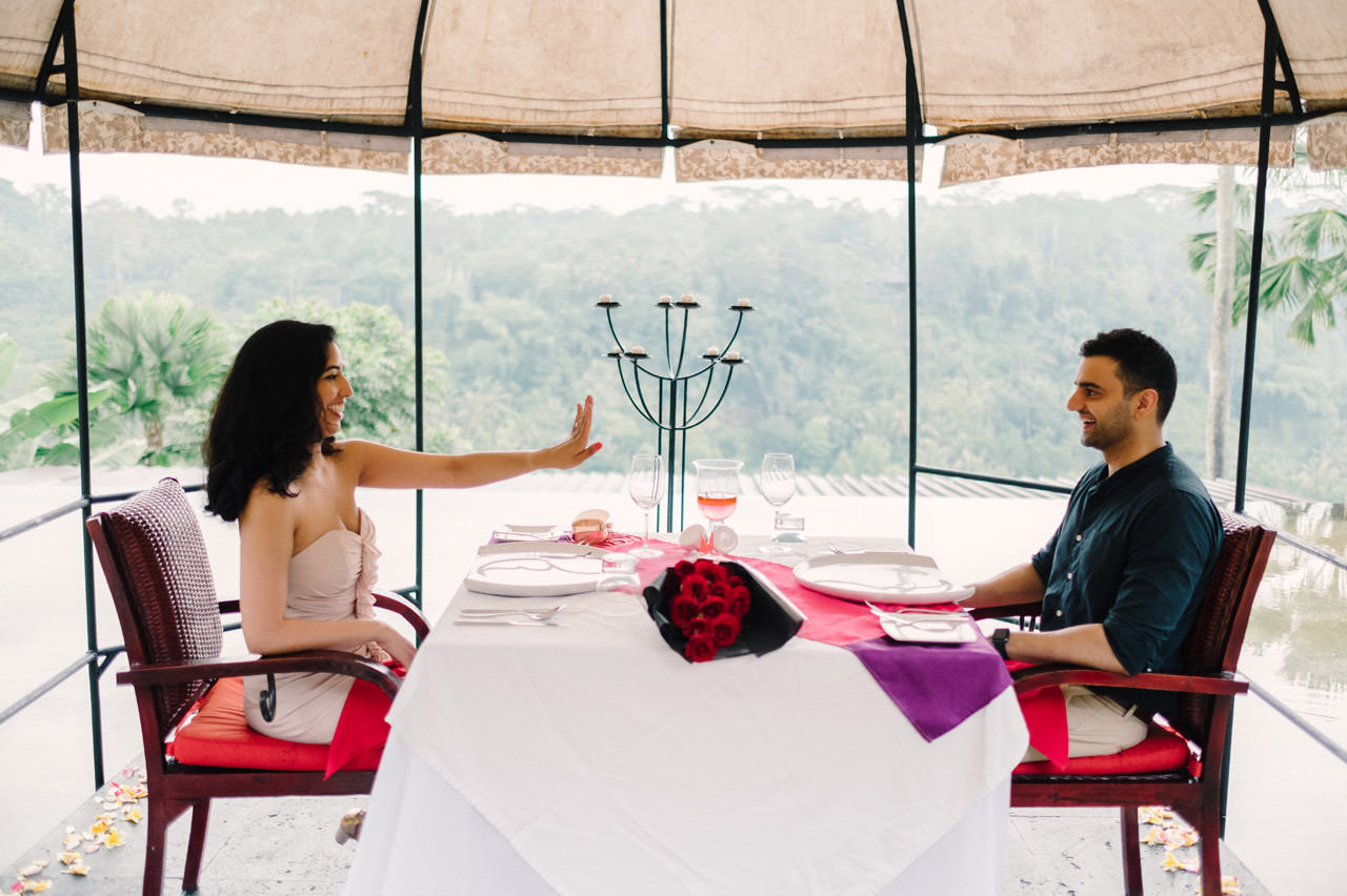 Parag and Mona: Ubud Surprise Proposal 17