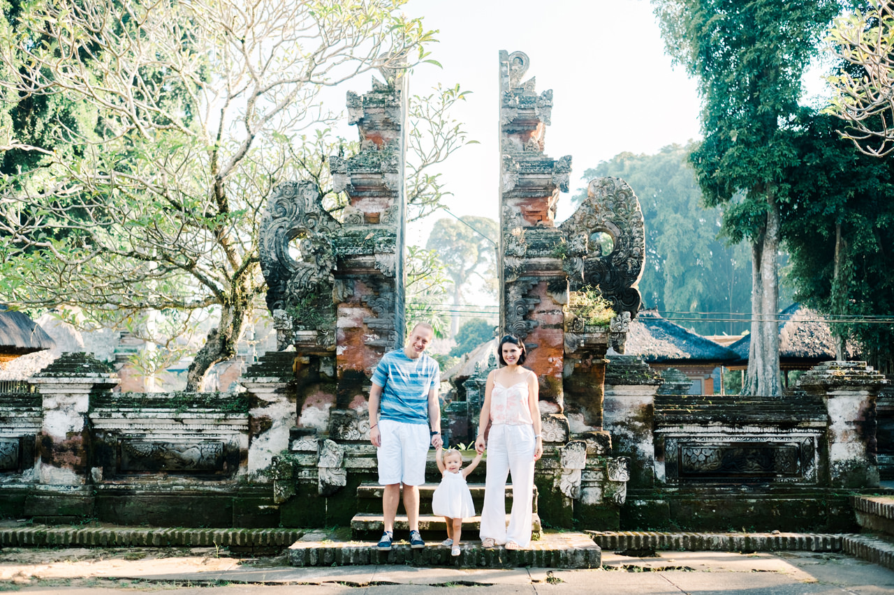Bali Holiday Family Photo Session 1