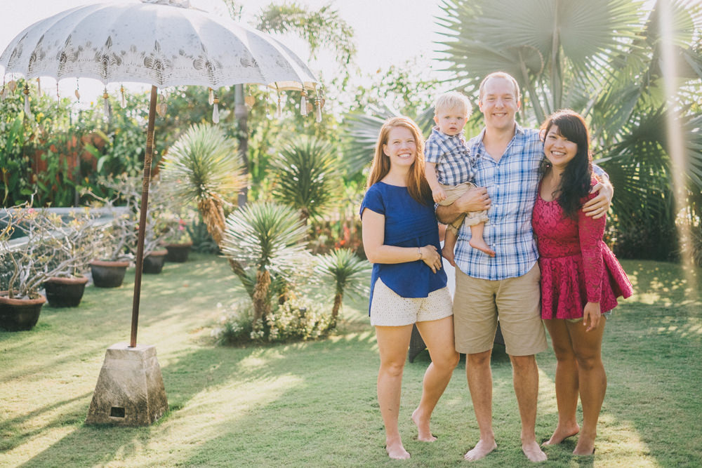 Rich & Danielle Family Vacation in Bali  2