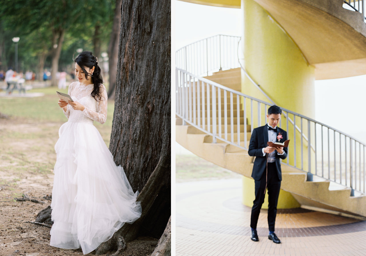 Elegant Raffles Hotel Singapore Wedding 2