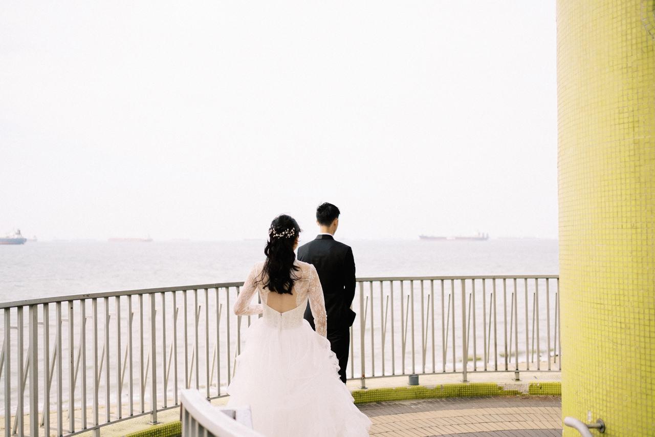 Elegant Raffles Hotel Singapore Wedding 4