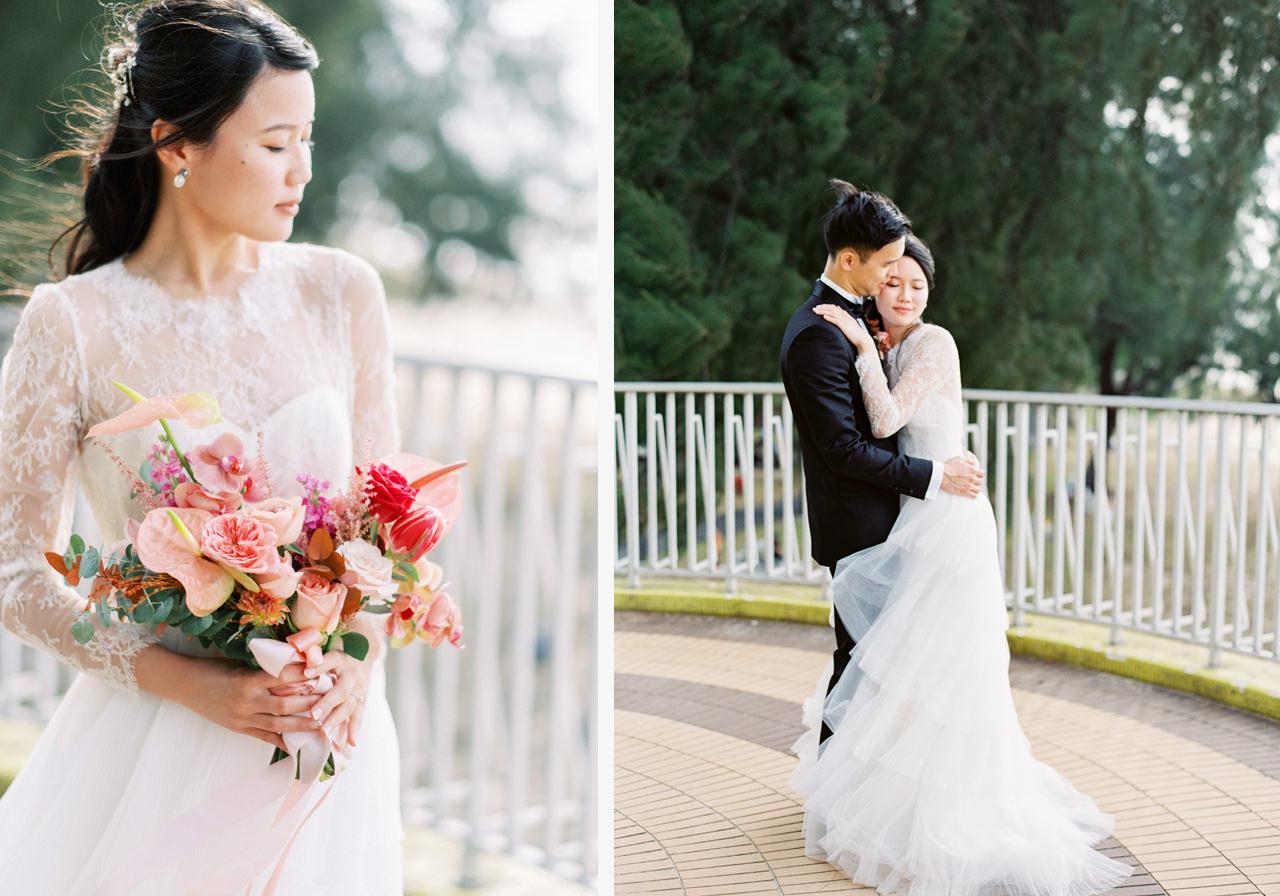"Elegant Raffles Hotel Singapore Wedding 7"" width="