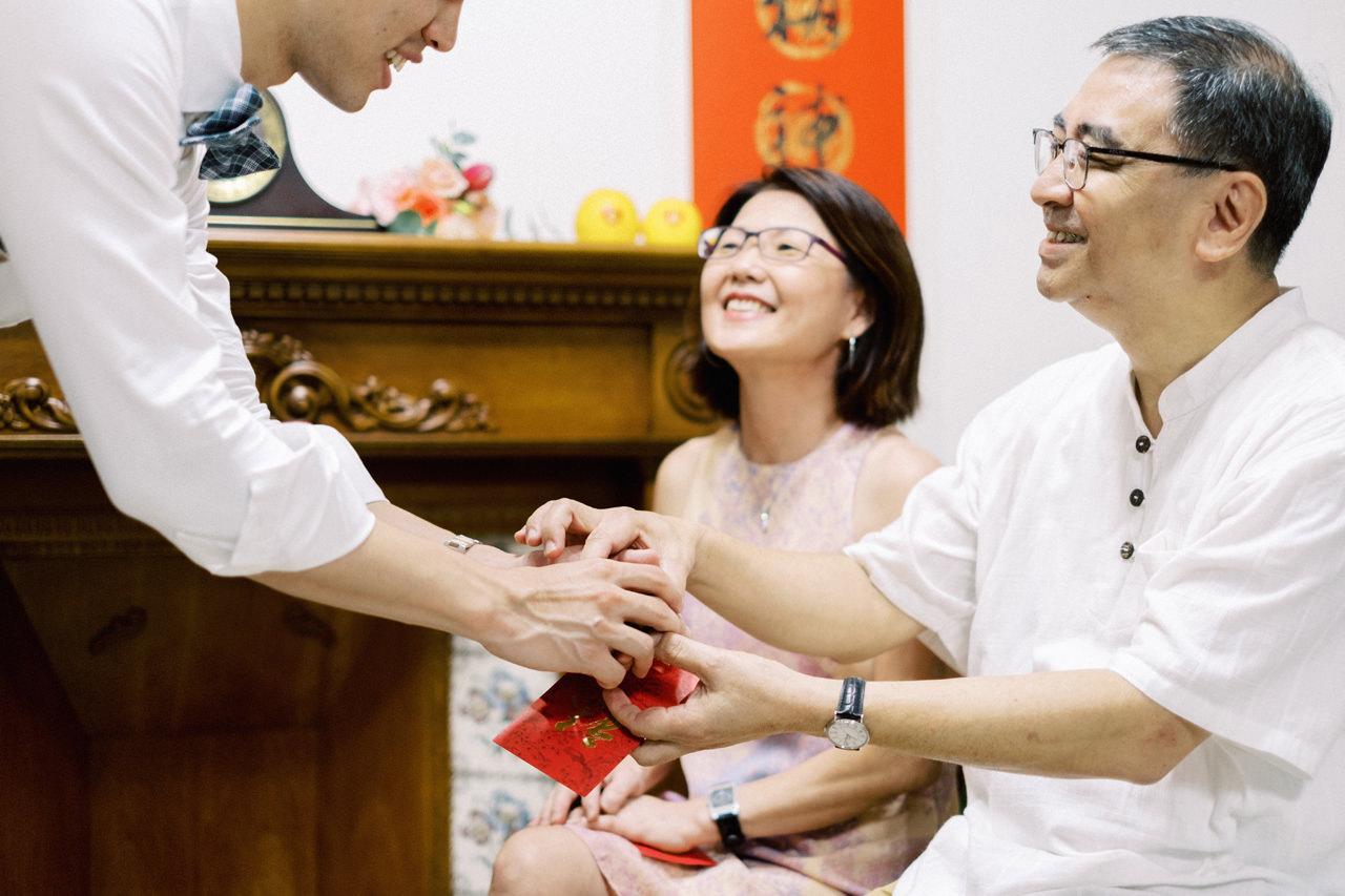 Elegant Raffles Hotel Singapore Wedding 10