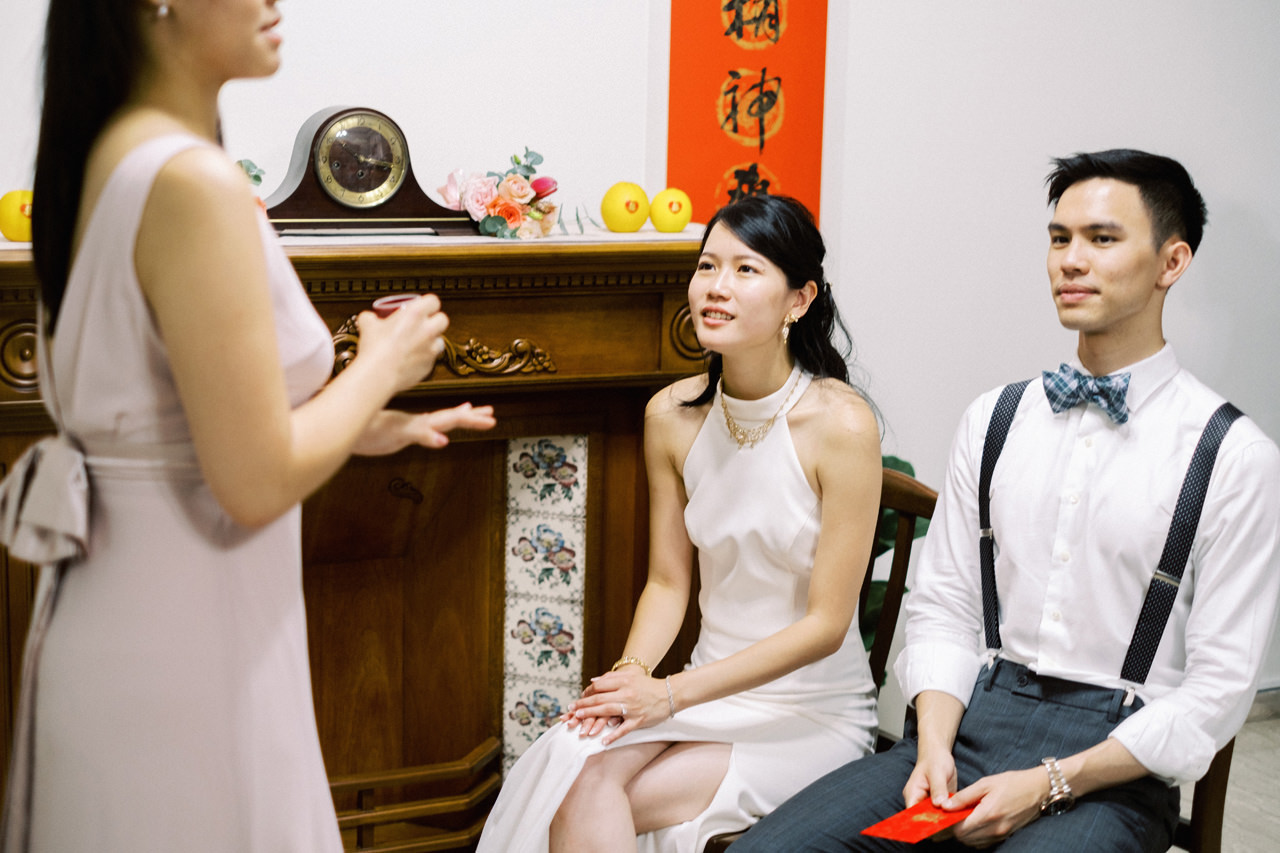 Elegant Raffles Hotel Singapore Wedding 12