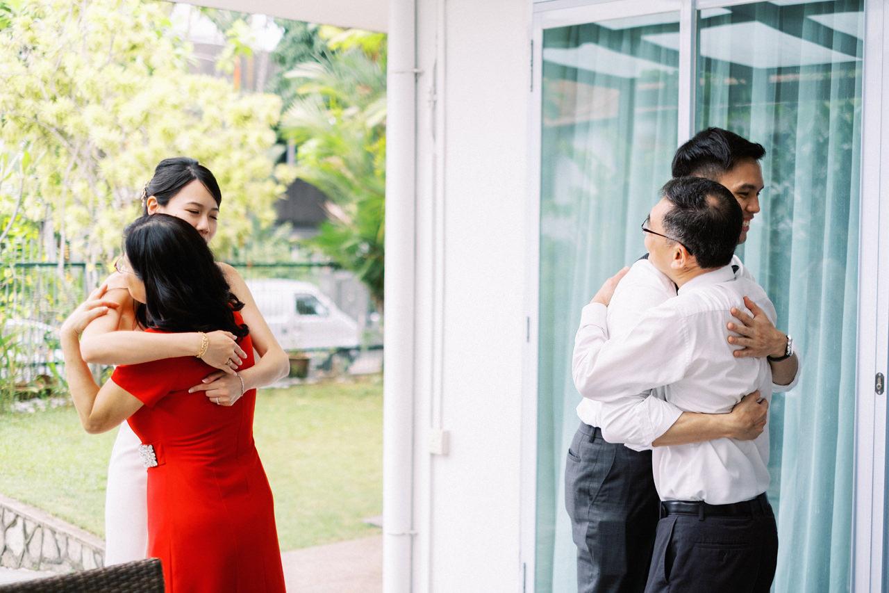 Elegant Raffles Hotel Singapore Wedding 15