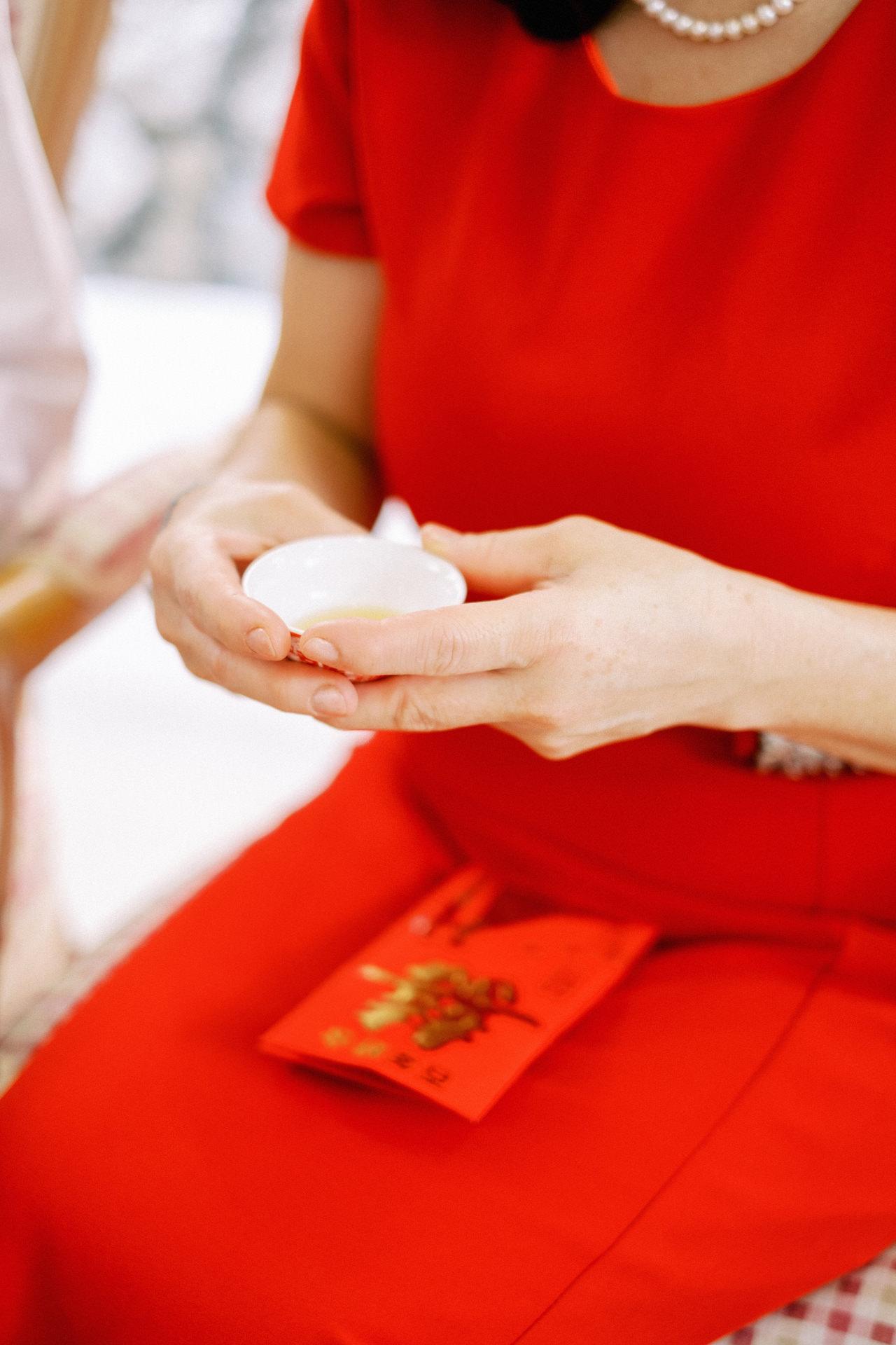 Elegant Raffles Hotel Singapore Wedding 16