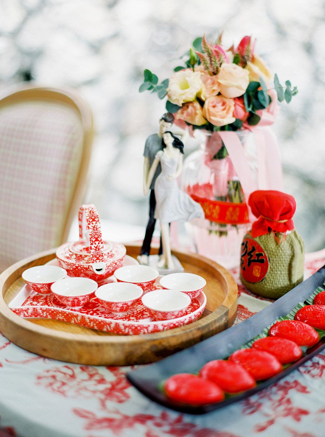 Elegant Raffles Hotel Singapore Wedding 20