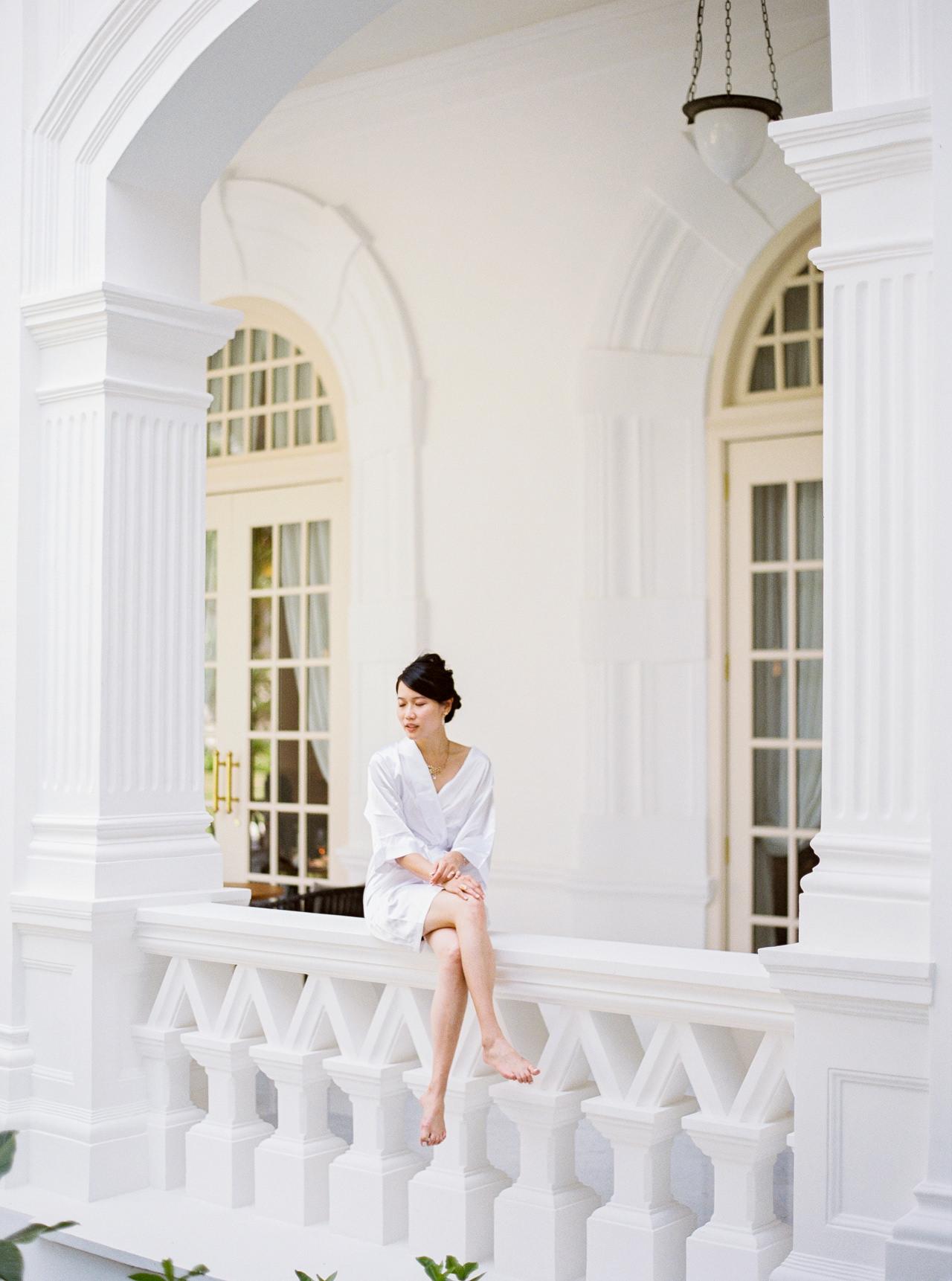 Elegant Raffles Hotel Singapore Wedding 26