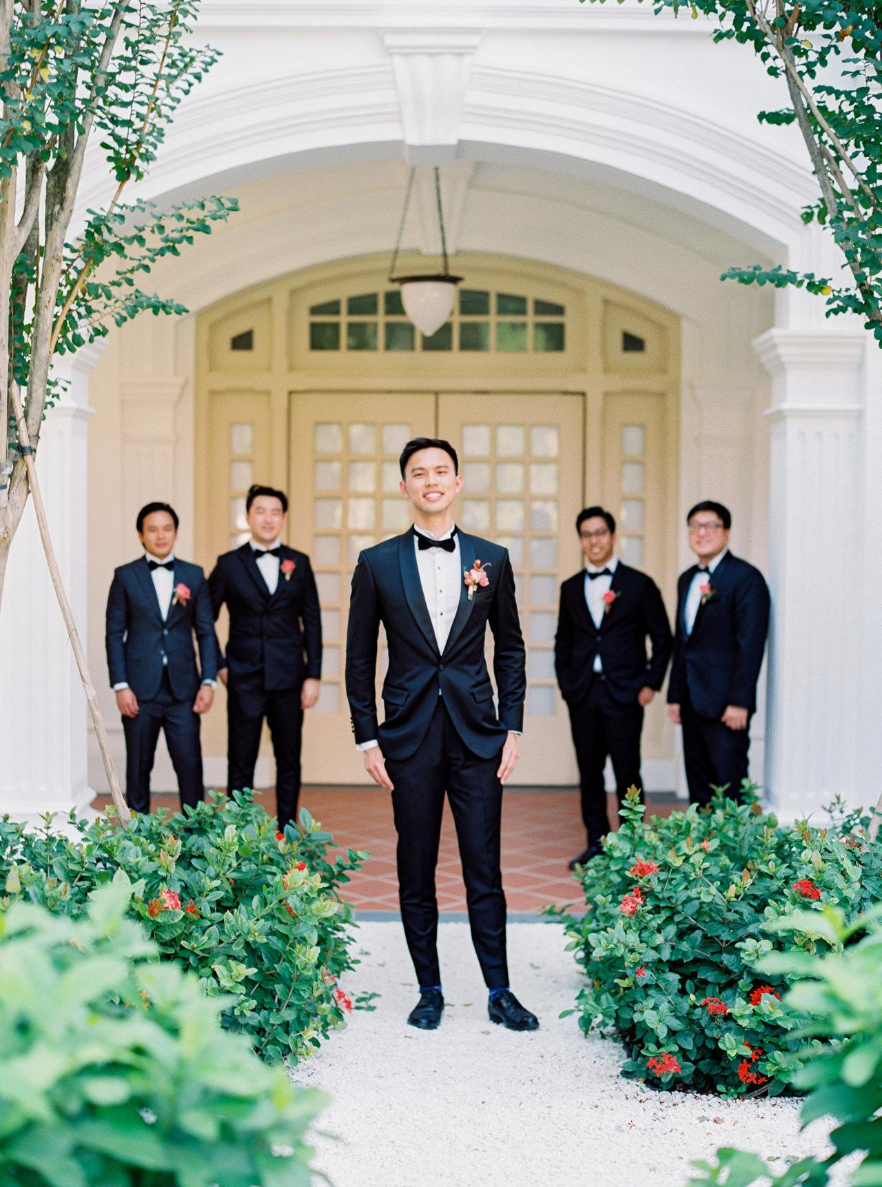 Elegant Raffles Hotel Singapore Wedding 28