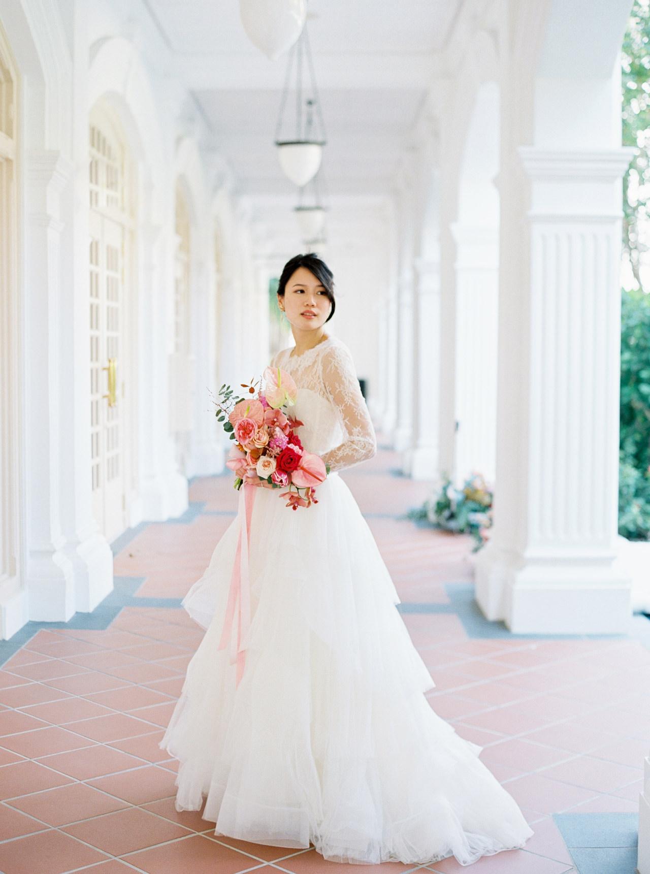 Elegant Raffles Hotel Singapore Wedding 29