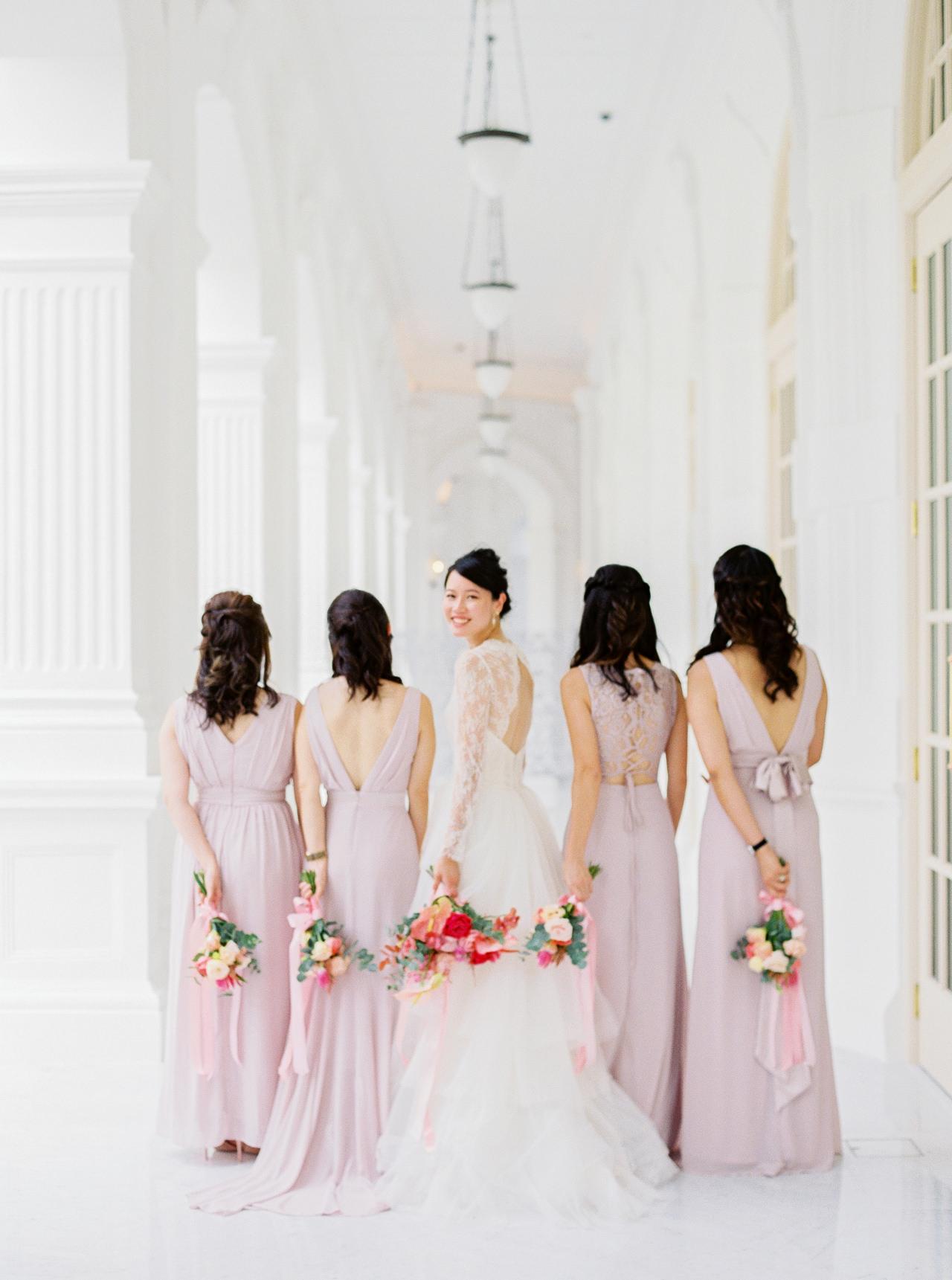 Elegant Raffles Hotel Singapore Wedding 40