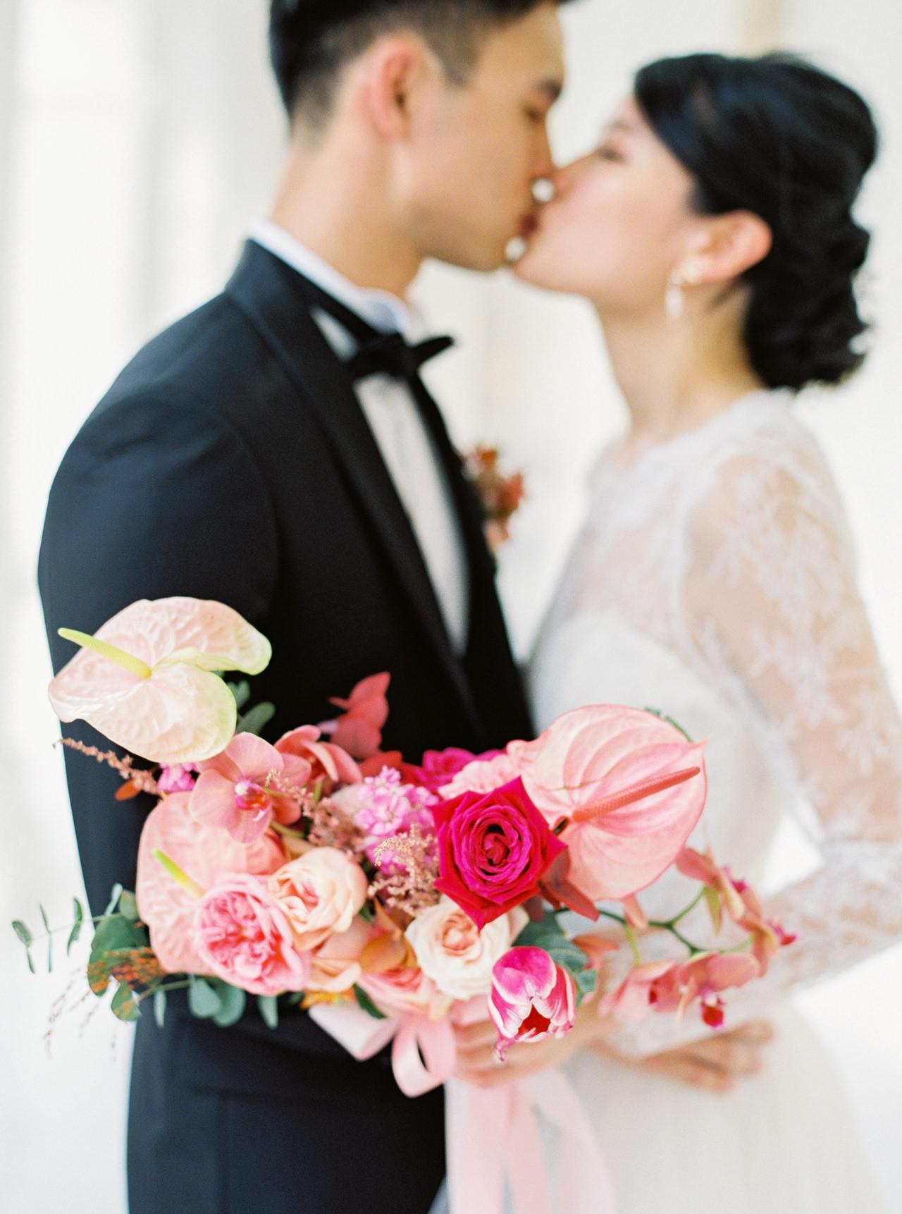 Elegant Raffles Hotel Singapore Wedding 42