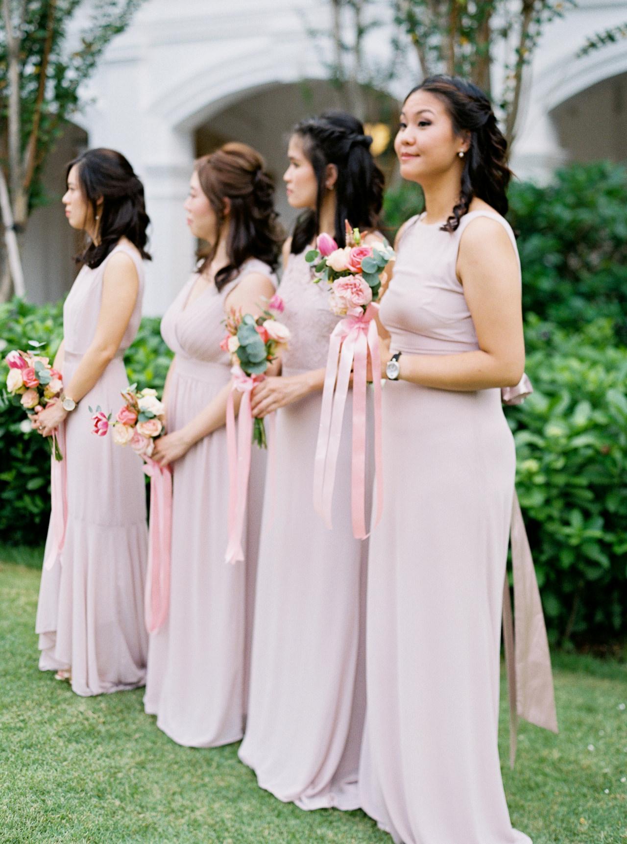 Elegant Raffles Hotel Singapore Wedding 52