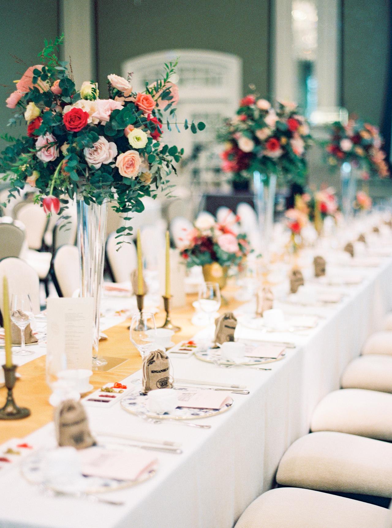 Elegant Raffles Hotel Singapore Wedding 58