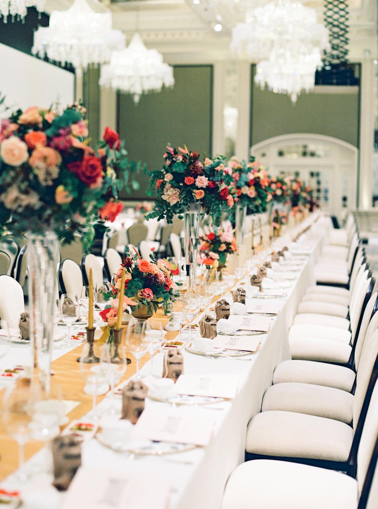 Elegant Raffles Hotel Singapore Wedding 62