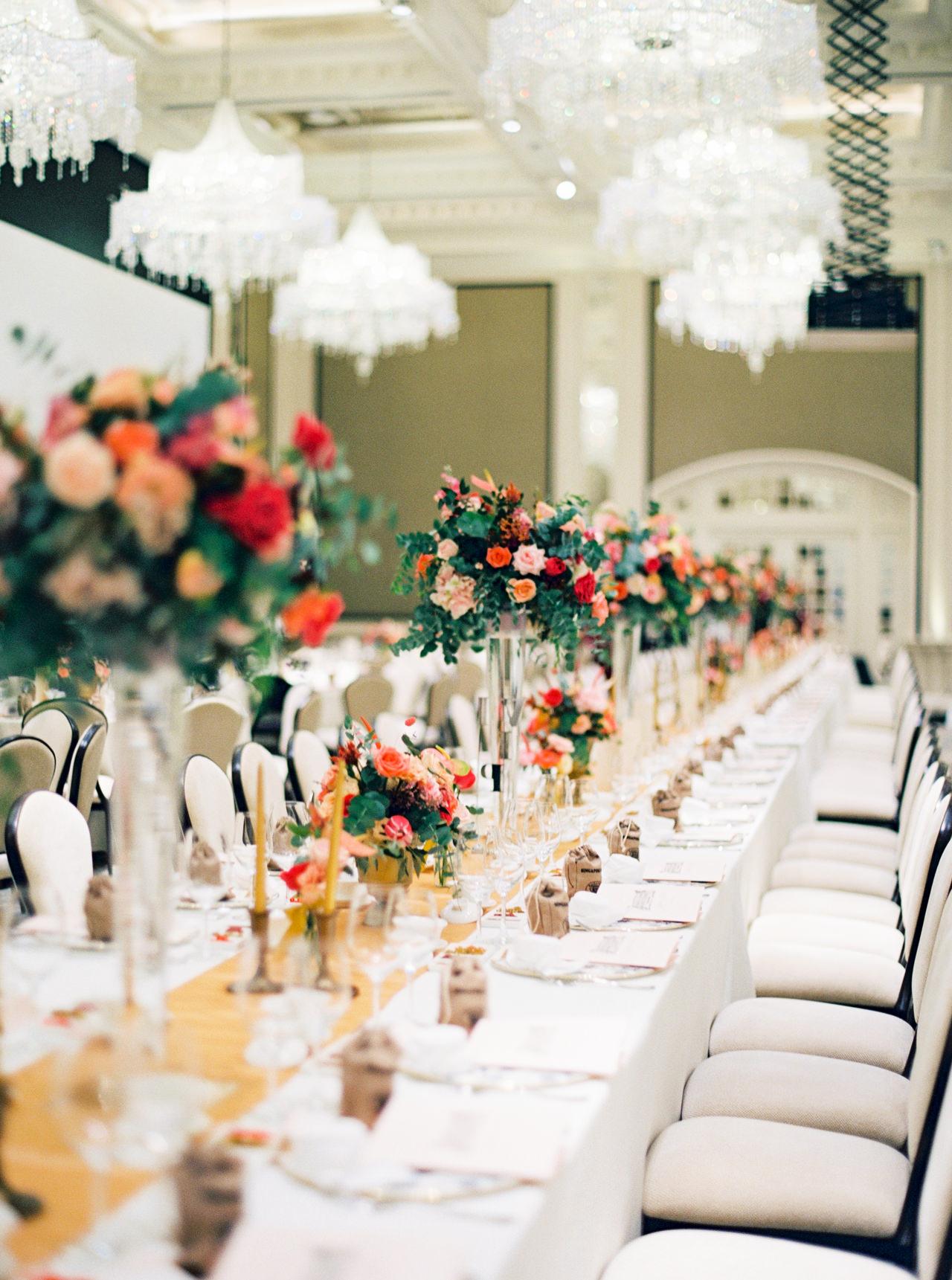 Elegant Raffles Hotel Singapore Wedding 63