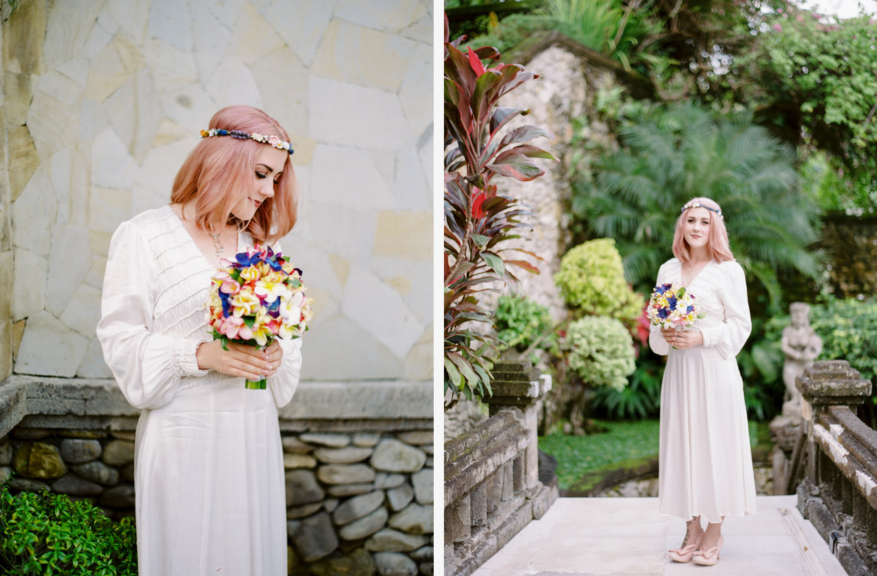 H & R: Viceroy Bali Elopement Photography 8
