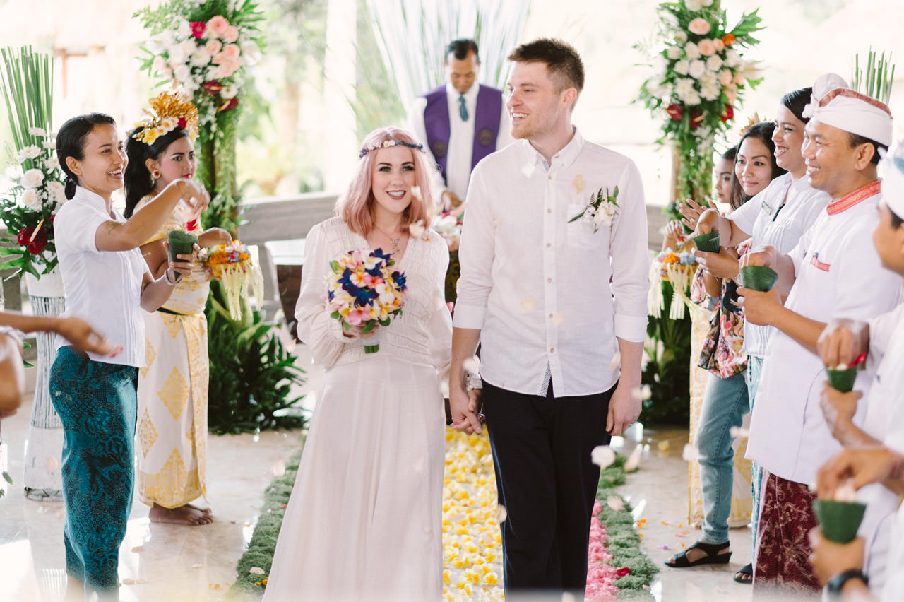 H & R: Viceroy Bali Elopement Photography 19
