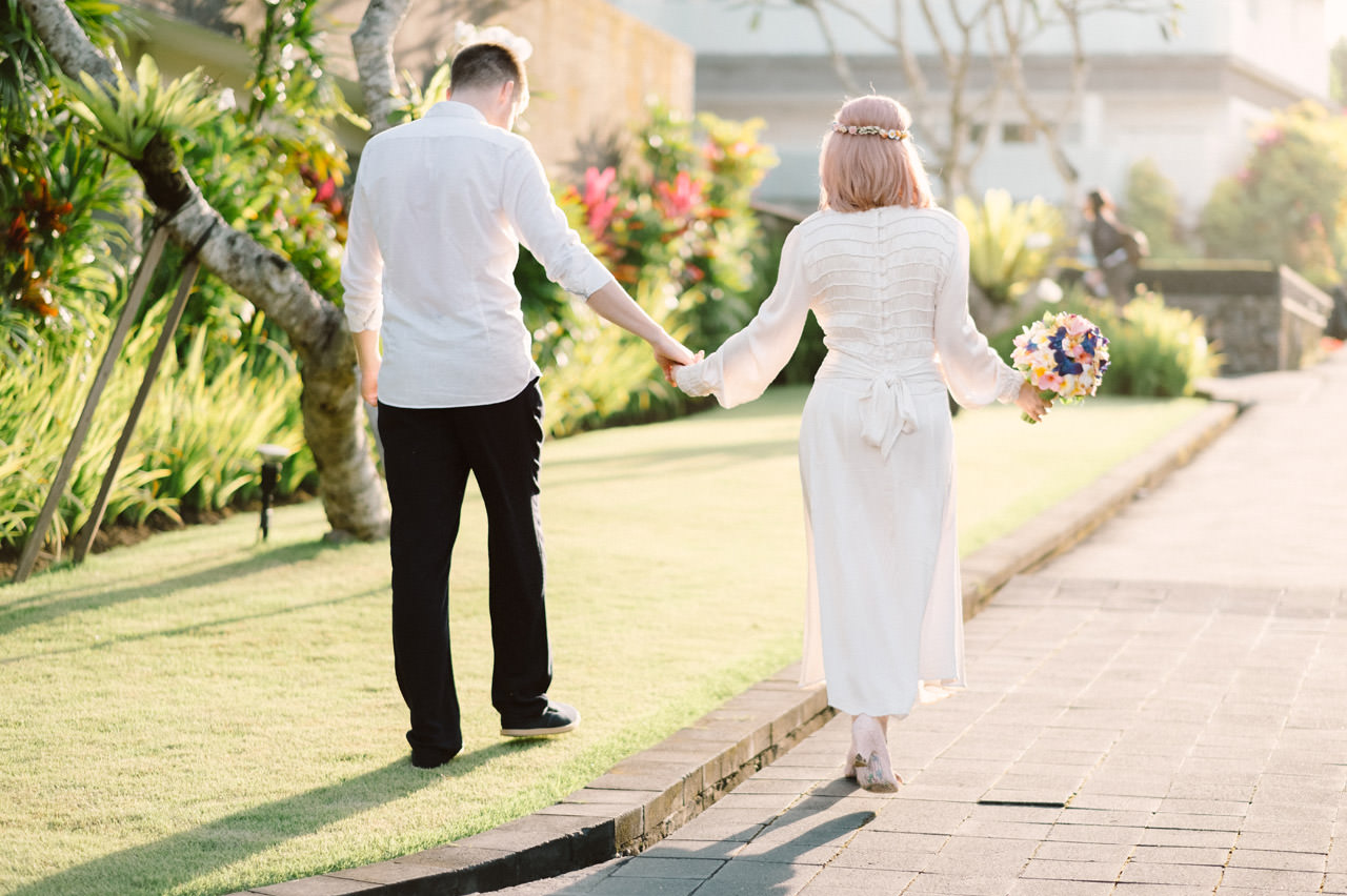 H & R: Viceroy Bali Elopement Photography 27