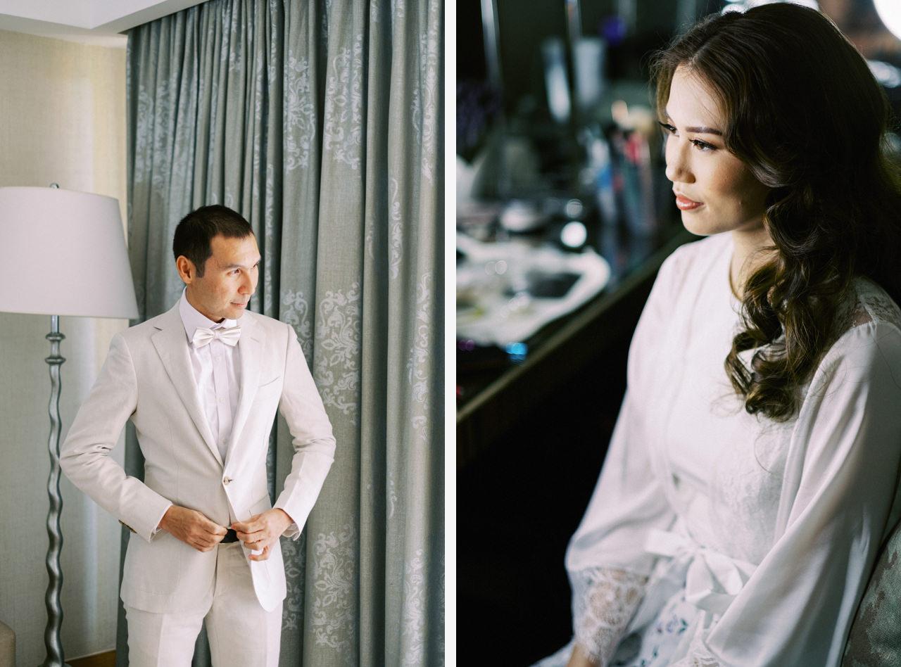 The Mulia Bali Wedding Preparation
