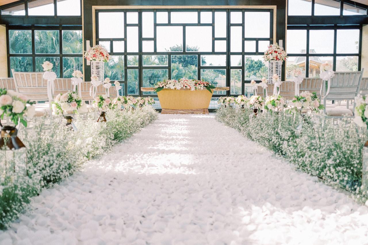 The Mulia Bali Wedding Decoration