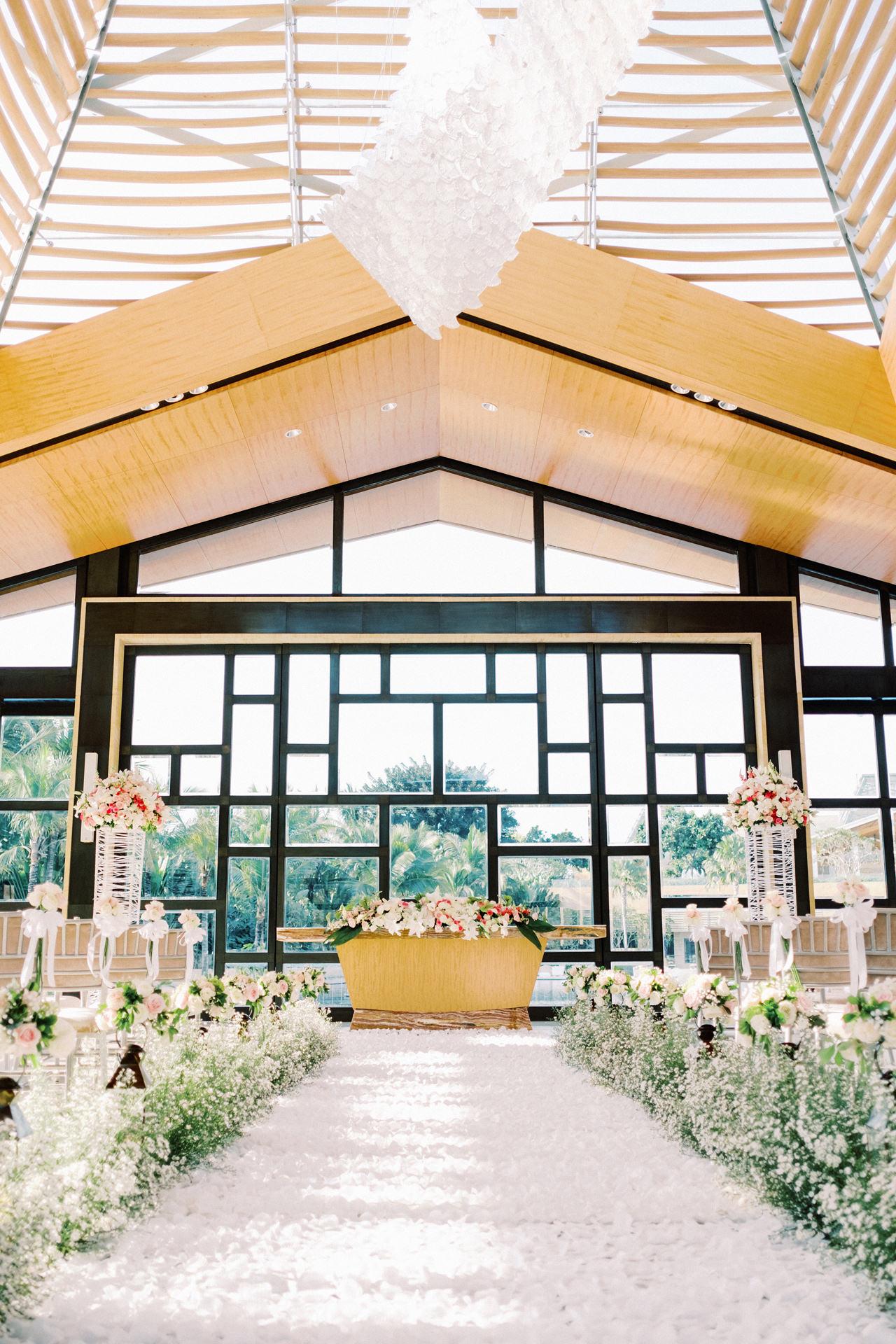 The Mulia Bali Wedding Venue Decoration