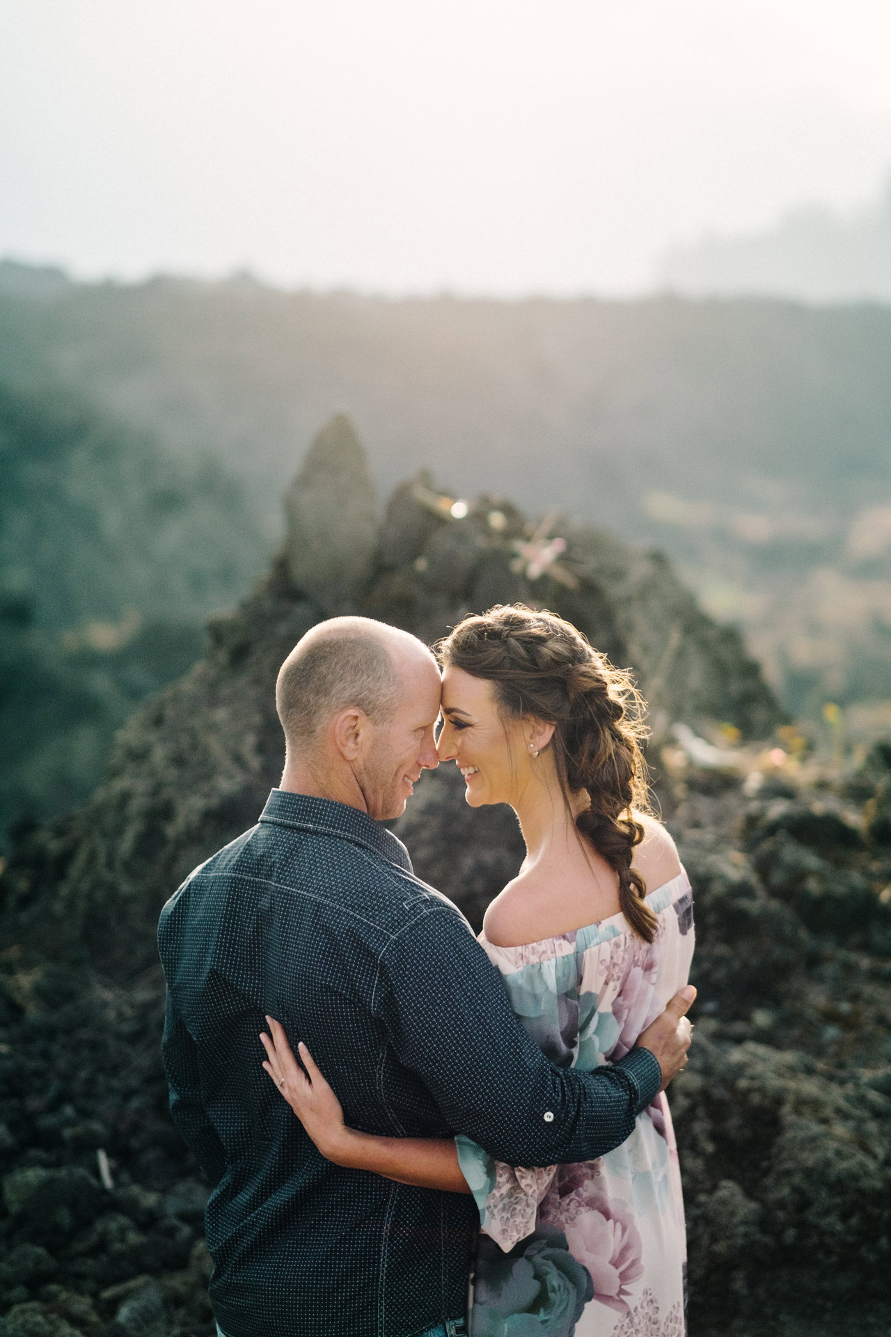 K&R: Adventurous Mount Batur Bali Engagement Photography 2