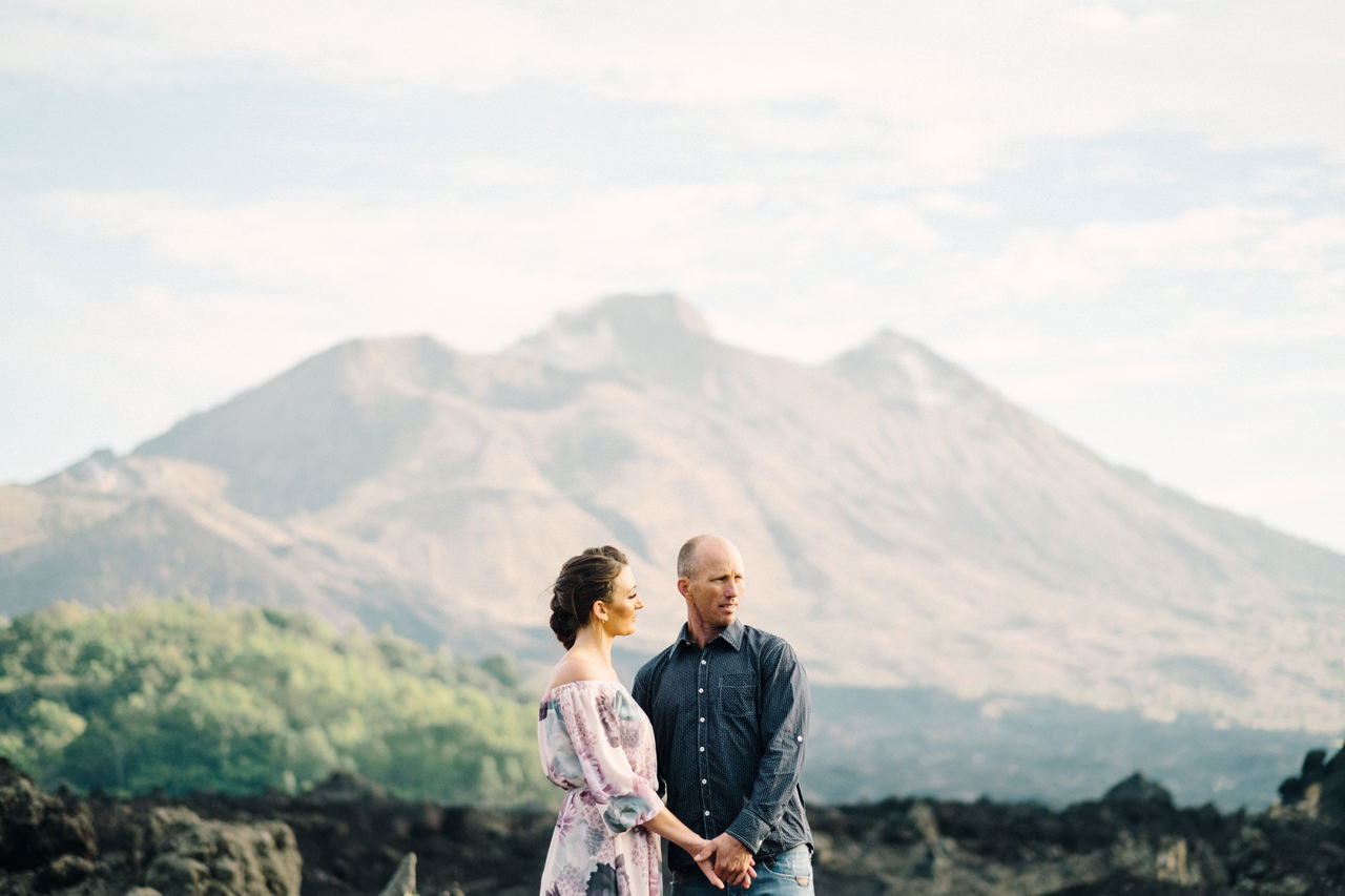 K&R: Adventurous Mount Batur Bali Engagement Photography 3