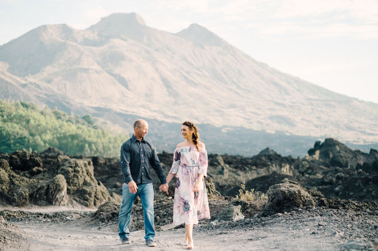 K&R: Adventurous Mount Batur Bali Engagement Photography 4