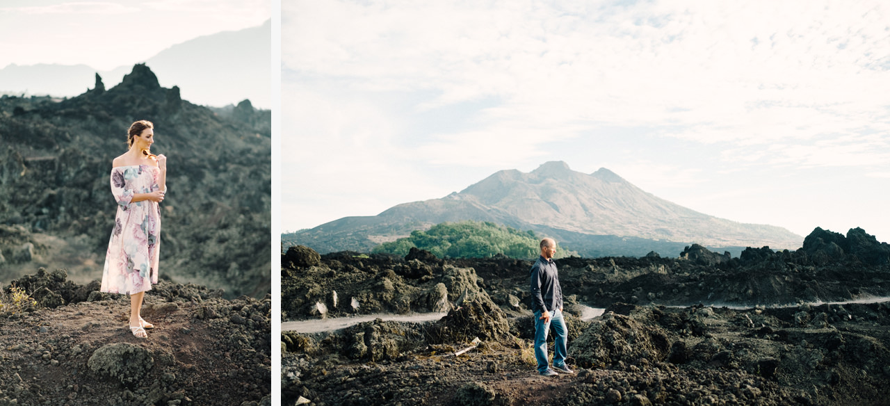 K&R: Adventurous Mount Batur Bali Engagement Photography 5