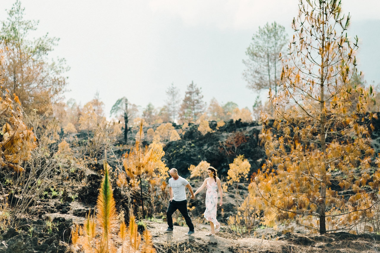 K&R: Adventurous Mount Batur Bali Engagement Photography 7