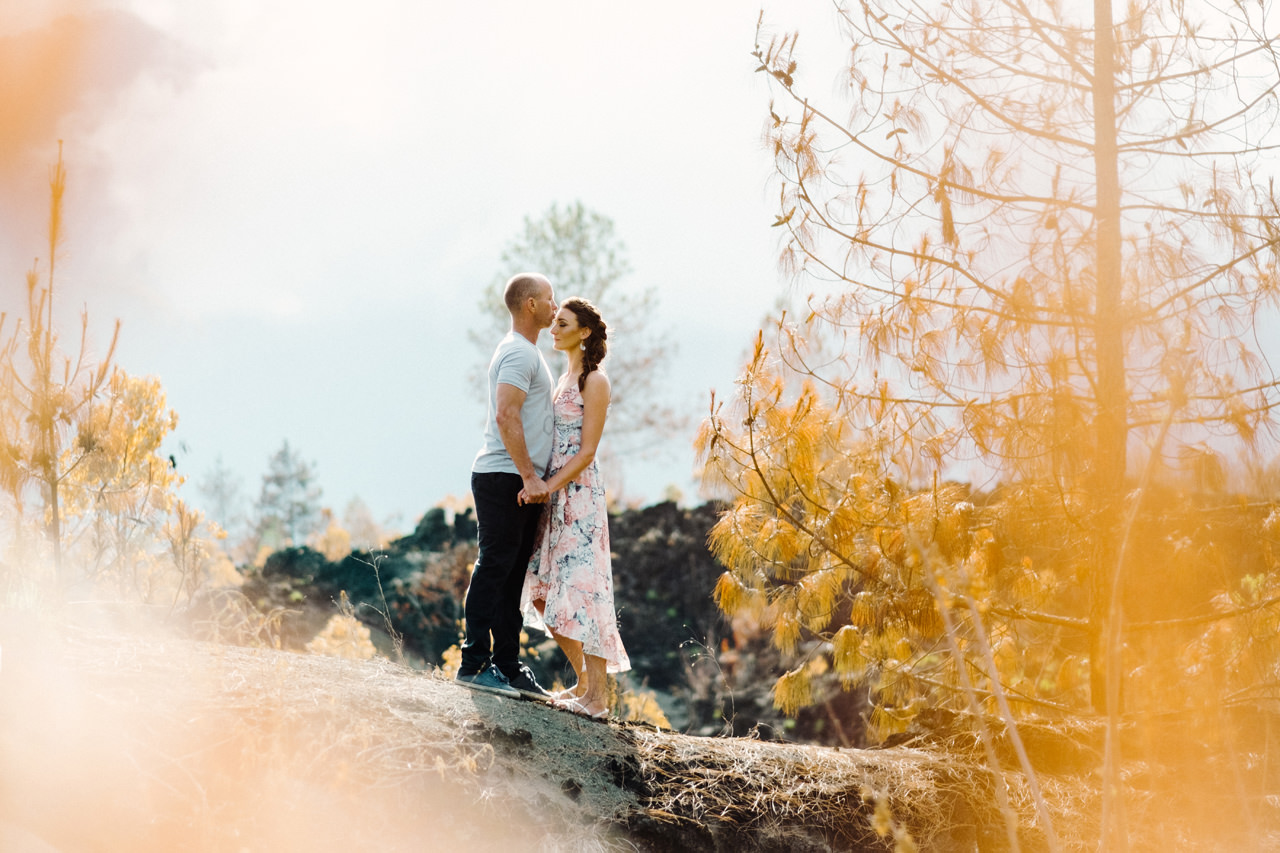 K&R: Adventurous Mount Batur Bali Engagement Photography 9