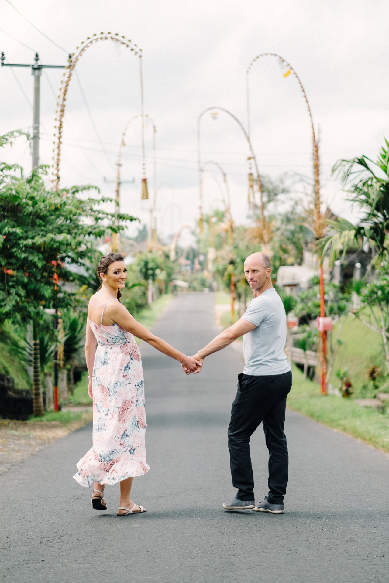 K&R: Adventurous Mount Batur Bali Engagement Photography 13