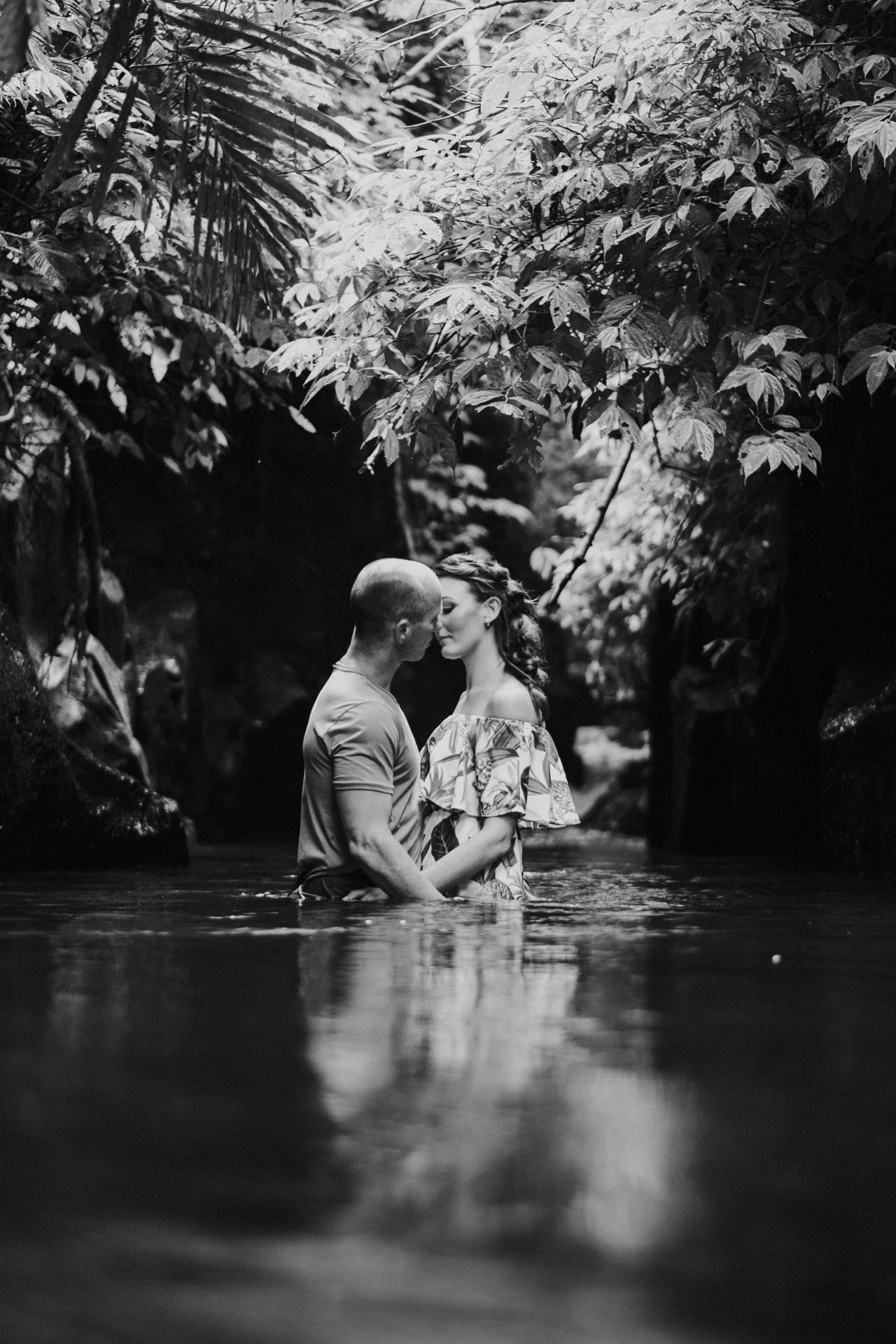 K&R: Adventurous Mount Batur Bali Engagement Photography 14