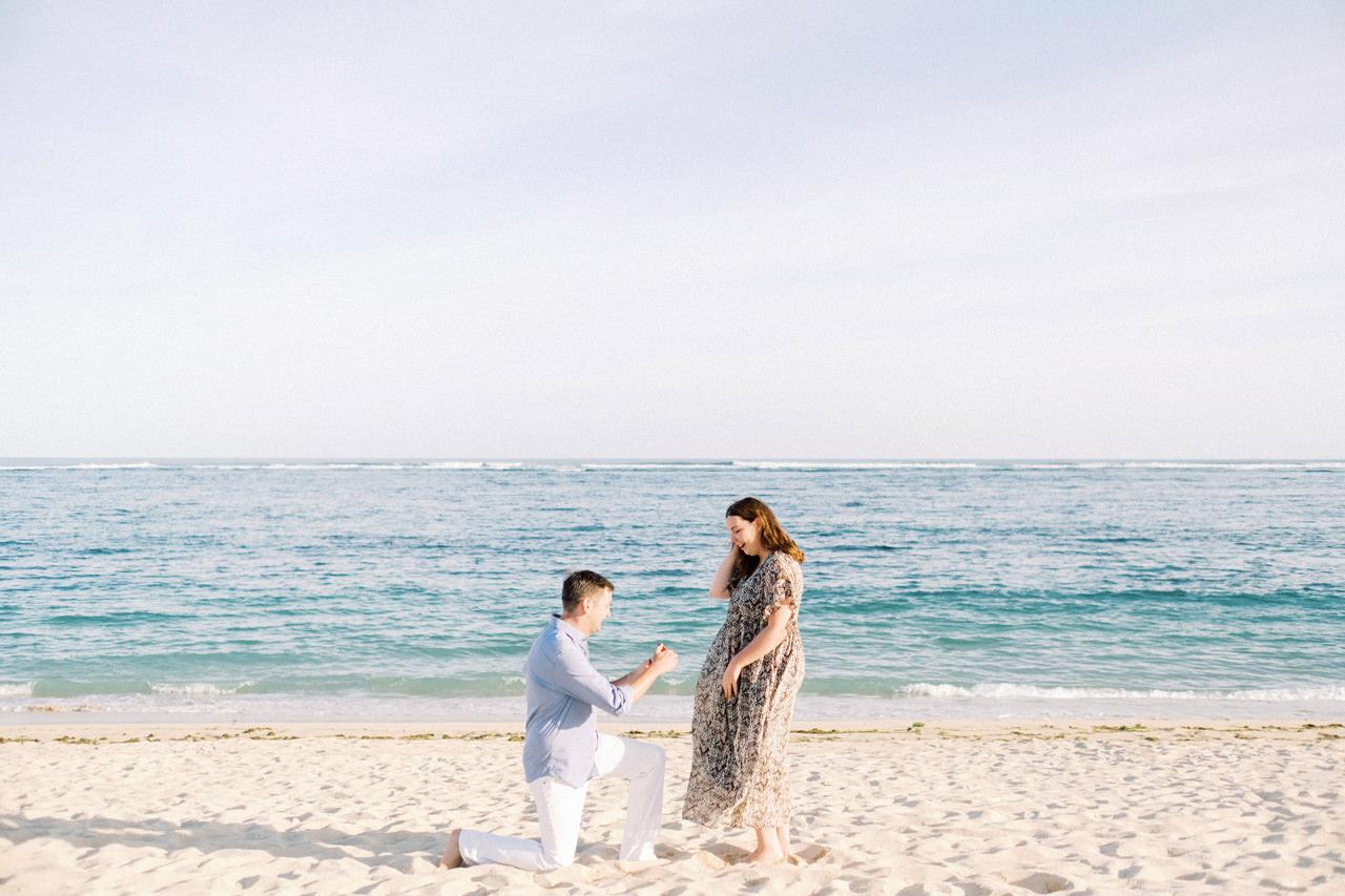 R&K: Beachside St. Regis Bali Dinner Proposal 5