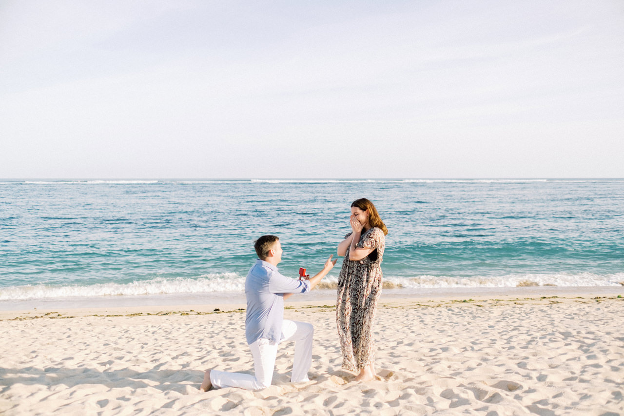R&K: Beachside St. Regis Bali Dinner Proposal 6