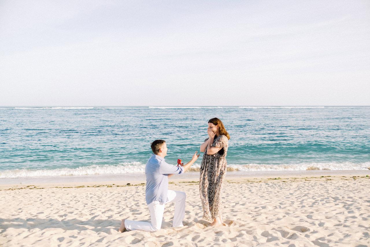 R&K: Beachside St. Regis Bali Dinner Proposal 6