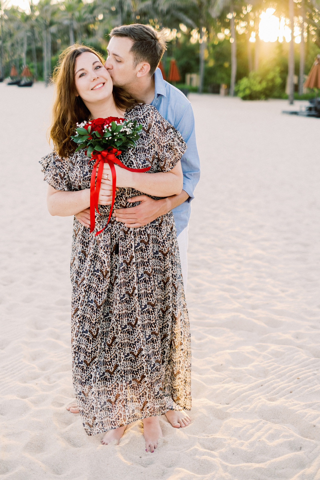 R&K: Beachside St. Regis Bali Dinner Proposal 18