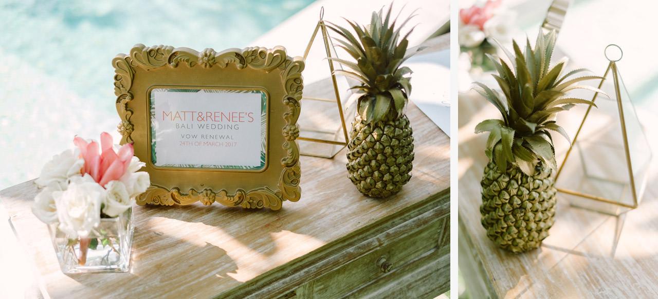 Matt & Renee: Intimate Bali Wedding Vow Renewal 2