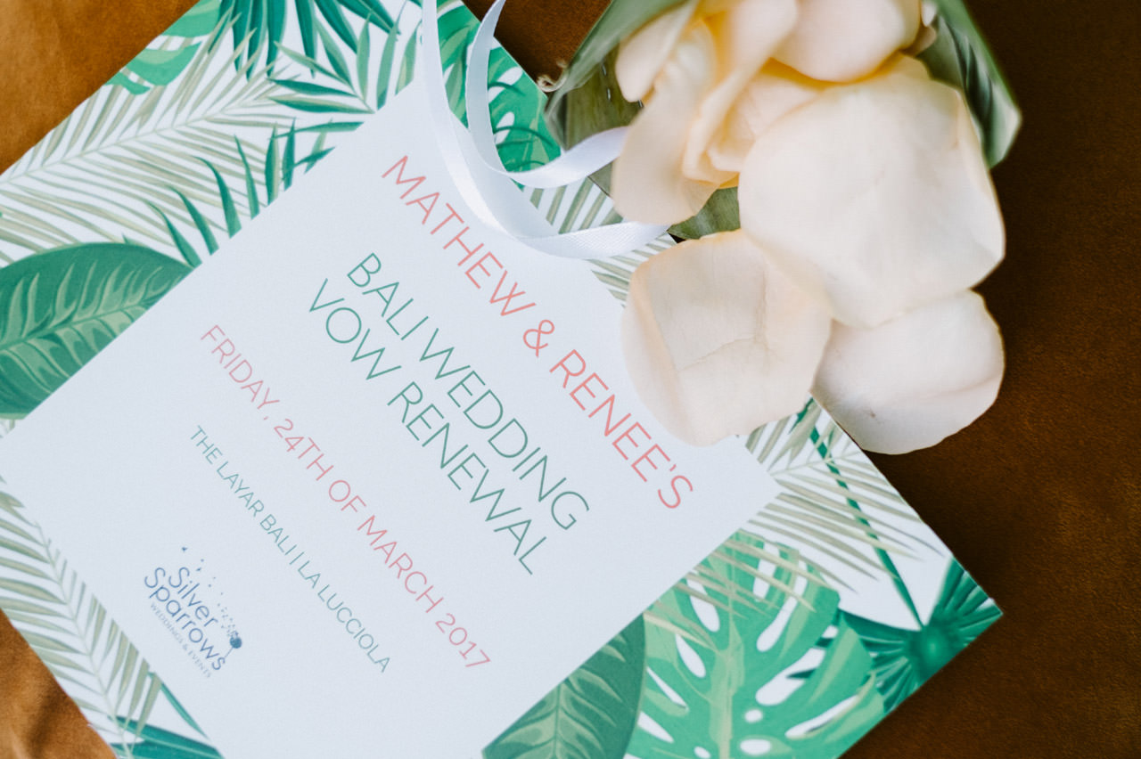 Matt & Renee: Intimate Bali Wedding Vow Renewal 4