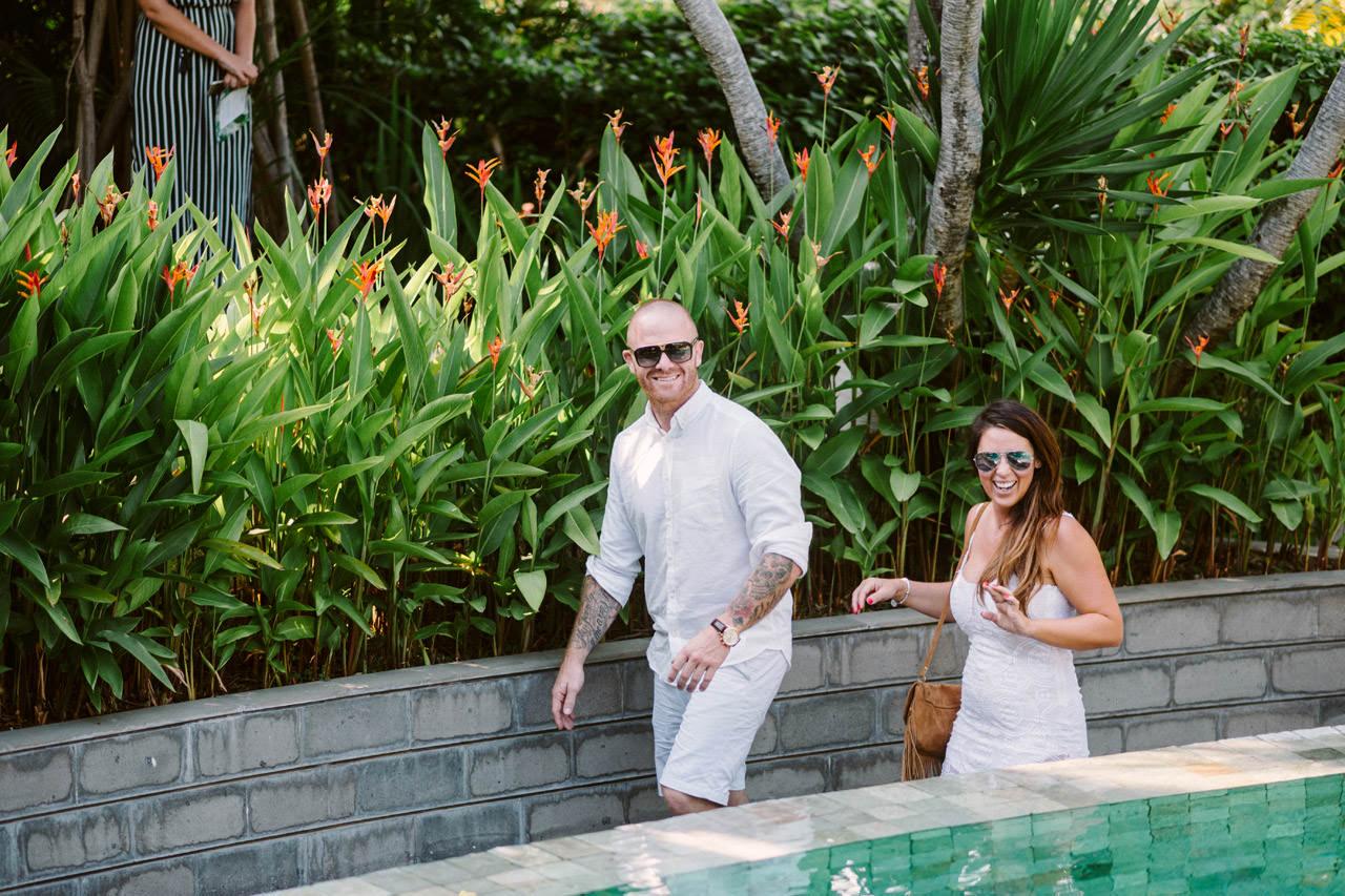 Matt & Renee: Intimate Bali Wedding Vow Renewal 6