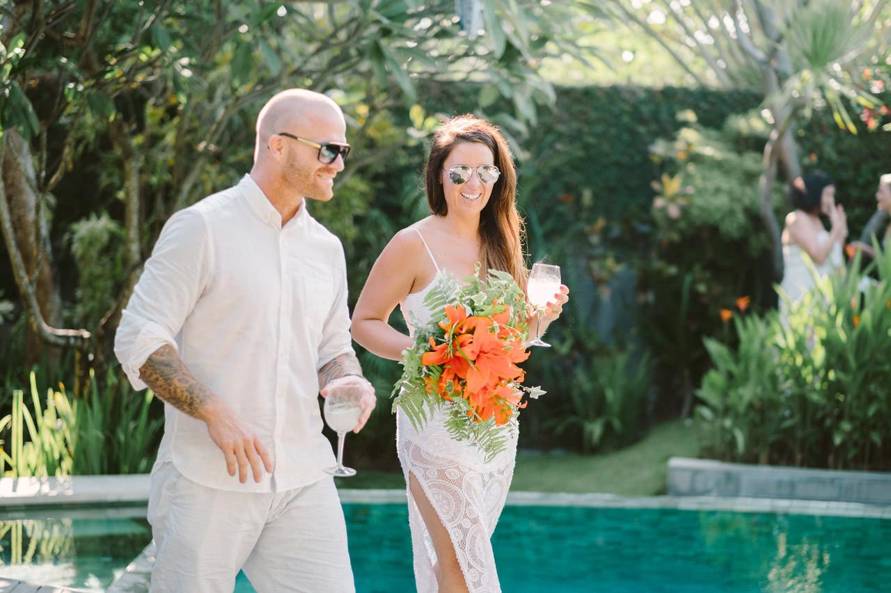 Matt & Renee: Intimate Bali Wedding Vow Renewal 7