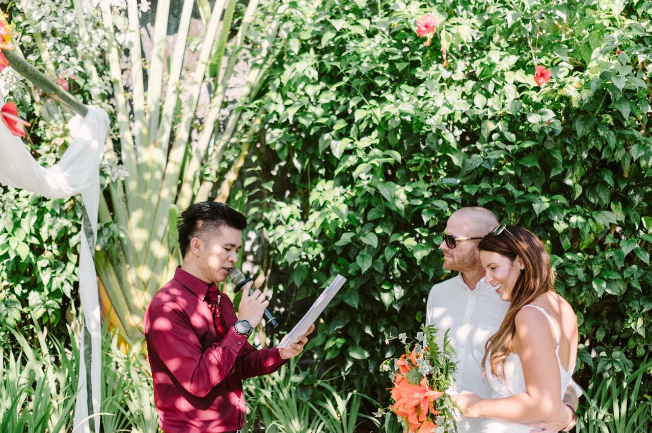 Matt & Renee: Intimate Bali Wedding Vow Renewal 8