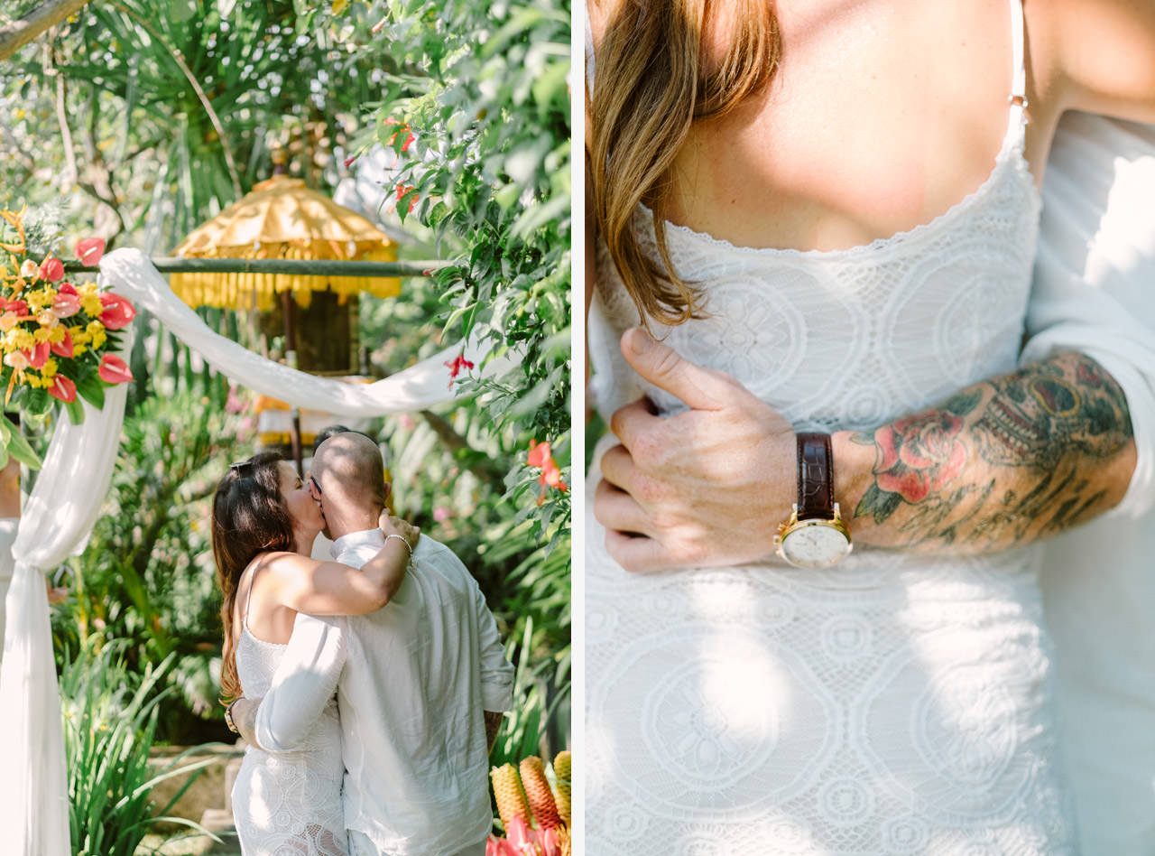 Matt & Renee: Intimate Bali Wedding Vow Renewal 10
