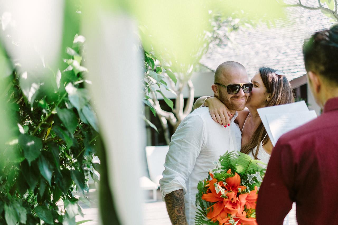 Matt & Renee: Intimate Bali Wedding Vow Renewal 11