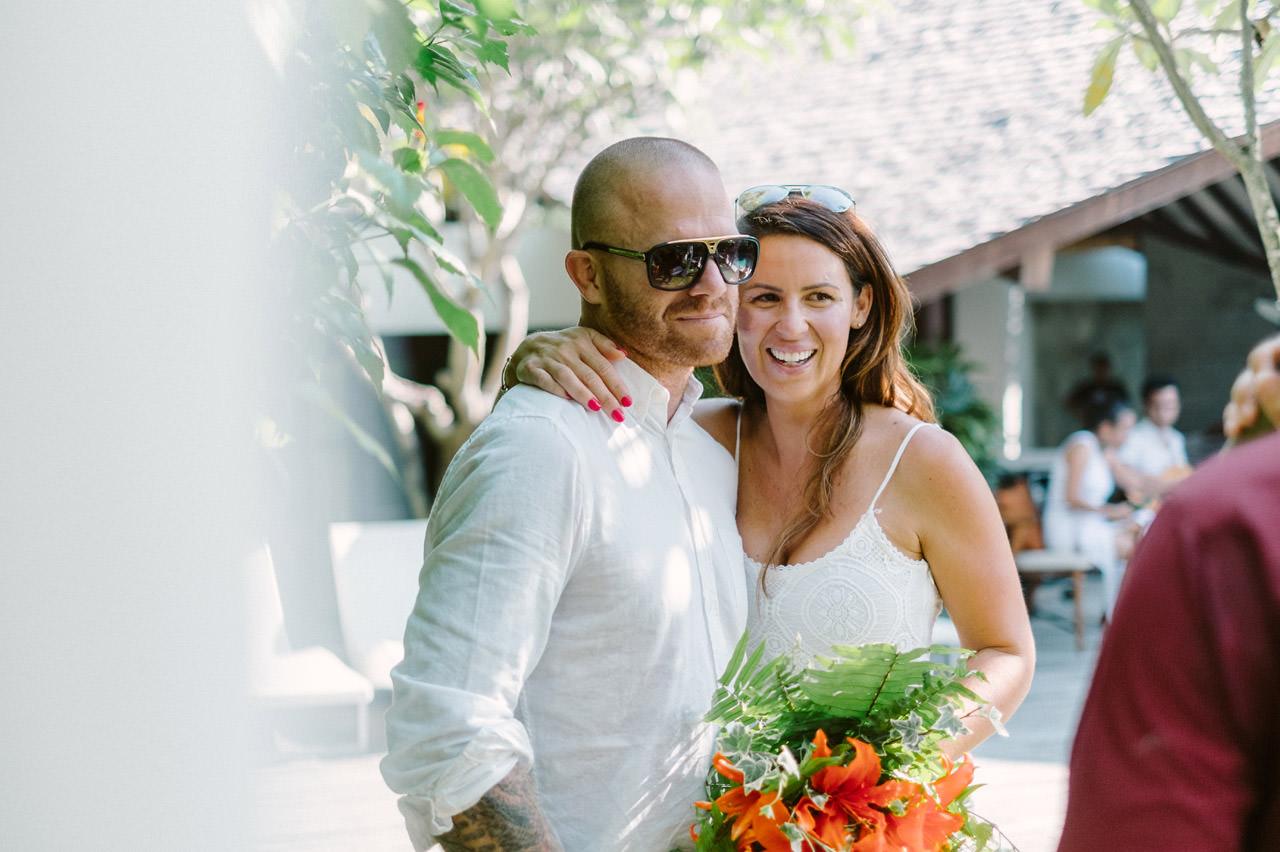 Matt & Renee: Intimate Bali Wedding Vow Renewal 13