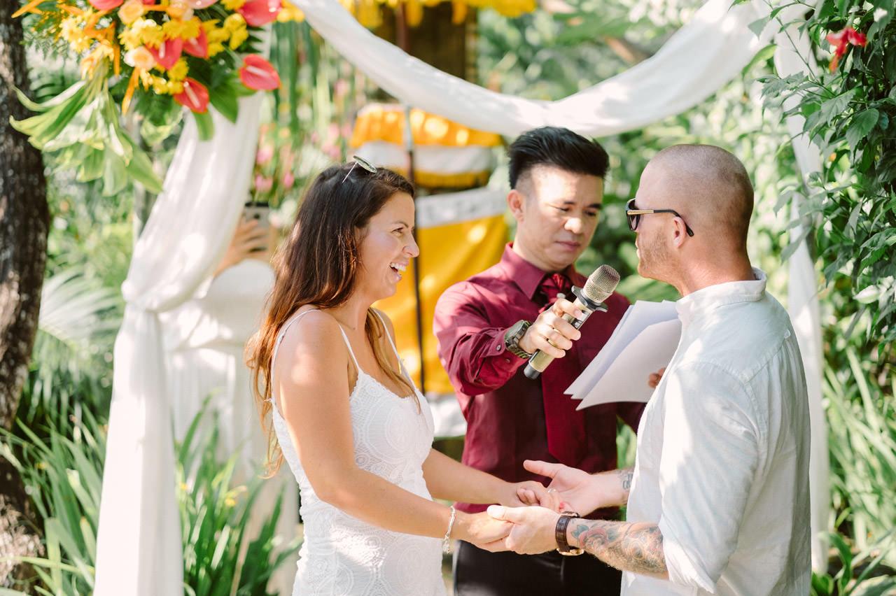 Matt & Renee: Intimate Bali Wedding Vow Renewal 14